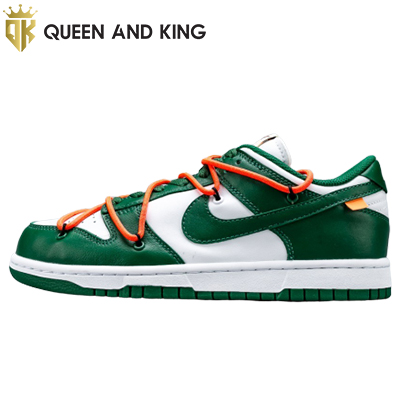Nike Dunk Low Off-White Pine Green (Siêu cấp)