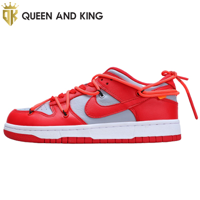 Nike Dunk Low Off-White University Red (REP 1:1)