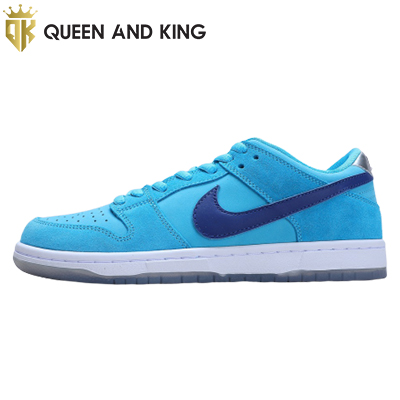 NIKE SB DUNK LOW PRO Blue Faux Hair (REP 1:1)